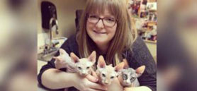 Alberta veterinarian recognized for commitment to feline care