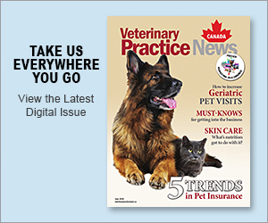 View the latest digital issue — Veterinary Practice News Canada June 2019