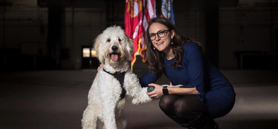 Easing anxiety top-ranking task for PTSD service dogs